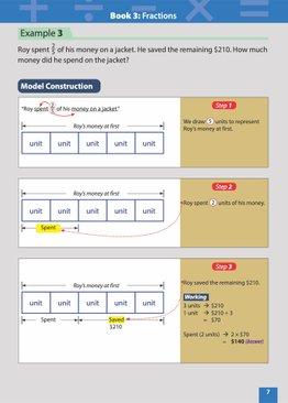 MASTER MATH MODELS (P3&4) BOOK 3 - FRACTIONS