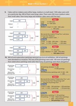 MASTER MATH MODELS (P3&4) BOOK 4 - SOLUTIONS BOOK