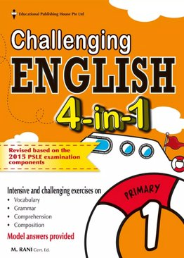 Challenging English 4-In-1 1