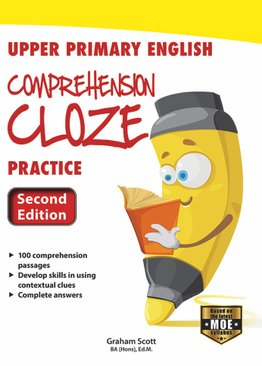 Upper Primary English Comprehension Cloze Practice (2ND EDT)