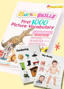 Super Skills First 1000 Picture Vocabulary