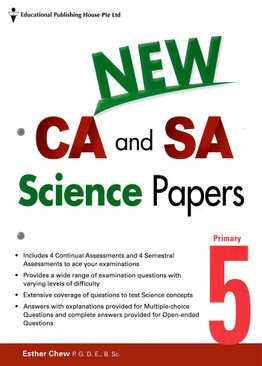 New CA and SA Science Papers 5