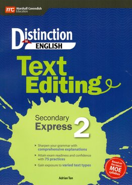 Distinction in English: Text Editing Secondary Express 2