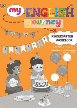 My English  Journey - Kindergarten 1 Workbook