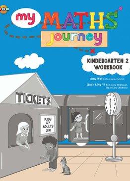 My Maths Journey - Kindergarten 2 Workbook