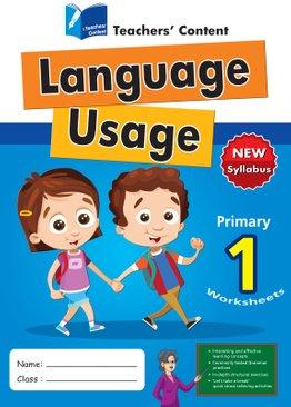 Primary 1 - Language Usage English Worksheet