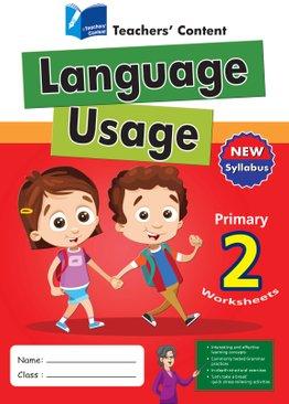Primary 2 - Language Usage English Worksheet