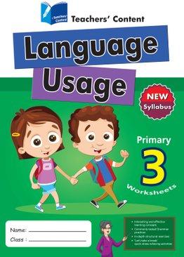 Primary 3 - Language Usage English Worksheet