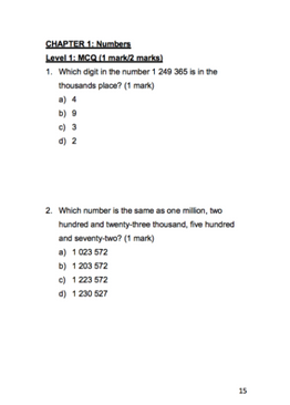 P5/6/PSLE Foundation Math. 100 Must-Know Math Questions (Direct Questions & Problem Sums)