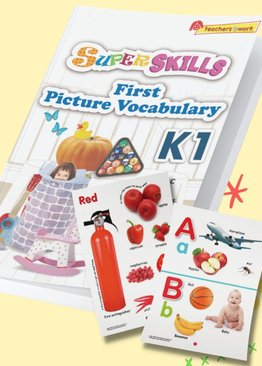 Super Skills First Picture Vocabulary K1