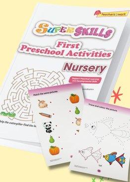 Super Skills First Preschool Activities Nursery