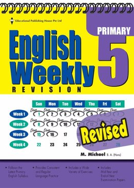 English Weekly Revision 5