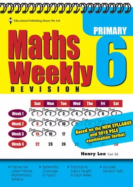 Maths Weekly Revision 6