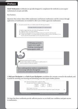 Think! Mathematics Secondary Workbook 2B (Exp)