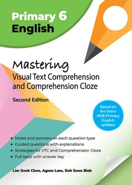 Mastering Visual Text Comprehension and Comprehension Cloze (2nd Ed)
