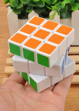 Developmental Toy For Kids Play N Learn Party Gift IQ Coloured Cube