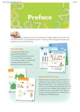 My Maths Journey - Kindergarten 1 Textbook