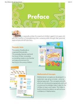 My Maths Journey - Kindergarten 2 Textbook