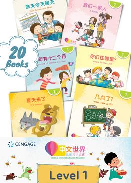 World Chinese Graded Readers 中文世界 Level 1 Bundle (20 Books)