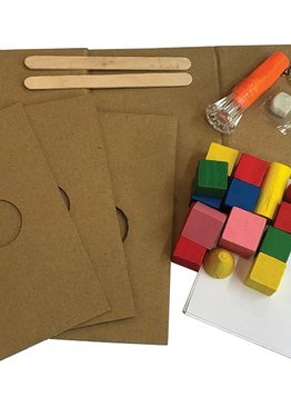 STEM Science Play N Learn 6 Experiments on Light and Shadow Kit