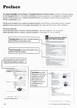 Lower Sec Science Revision Guide 1A