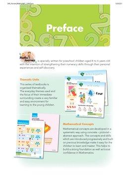 My Maths Journey - Nursery Textbook