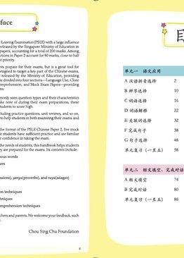 MASTERING PSLE CHINESE FOR PRIMARY 5| 考前冲刺AL1 P5 华文 试卷二 试题辨析
