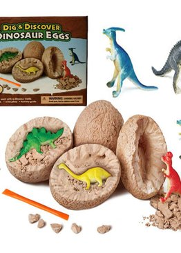 Educational Toy For Kids Dig A Dinosaur Egg Excavation Play and Learn Party Gift