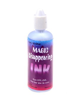 Play and Learn Magic Disappearing Invisible Ink Prank Toy Party Gift