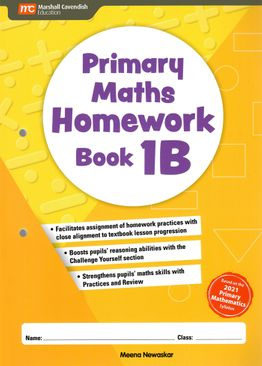 Primary Maths Homework Book 1B