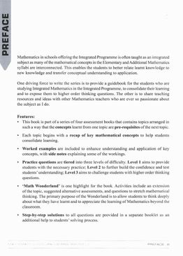 Integrated Programme Mathematics Book 2 (2021 Ed)