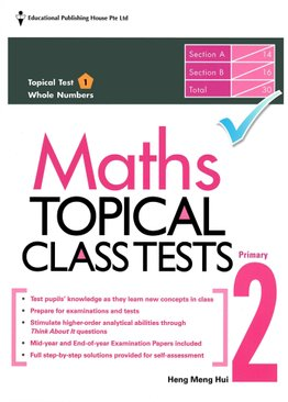 Maths Topical Class Tests 2