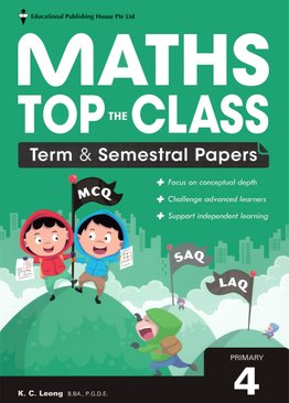 Maths Top The Class Term/Sem Papers P4