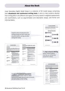 English Model Essays Lower Sec (3rd Ed)