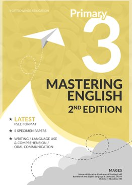 PRIMARY 3 MASTERING ENGLISH - 2ND EDITION
