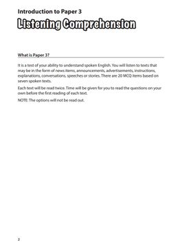 P5 English - Master Your Paper 3 & 4 (Listening & Oral)