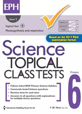Science Topical Class Tests 6