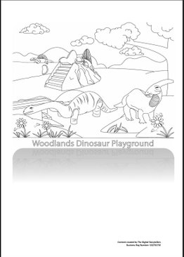 Singapore Heartland Playgrounds Colouring Book