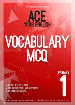 P1 ACE YOUR ENGLISH VOCABULARY MCQ