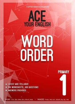 P1 ACE YOUR ENGLISH WORD ORDER