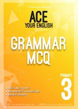 P3 ACE YOUR ENGLISH GRAMMAR MCQ