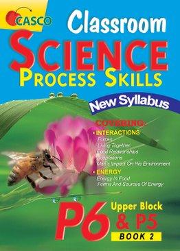 Classroom Science Process Skills Primary 6