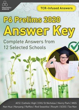 P6 Prelims 2020 Answer Key (Printed Copy)