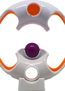 IQ Motor Skill Fidget Energy Loopy Loop Edge Game for Kids ( Random Colour )