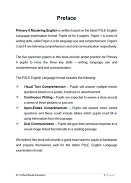 PRIMARY 6 MASTERING ENGLISH - 2ND EDITION