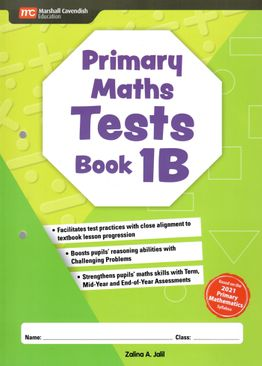 Primary Maths Tests Book 1B