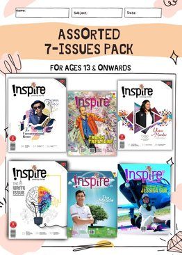 """""""INSPIRE"""" Assorted Pack: 7 Issues"""