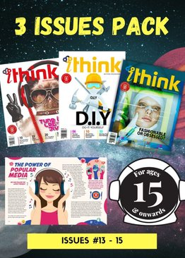 """""""ITHINK"""" Assorted Pack: 3 Issues (issues 13-15)"""