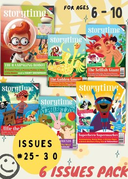 Storytime 6 Issues (Issues 25-30)
