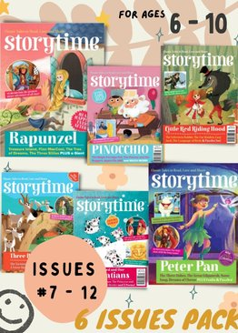 Storytime  6 issues (Issues 7-12)